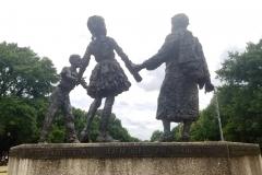 Bethune statue side
