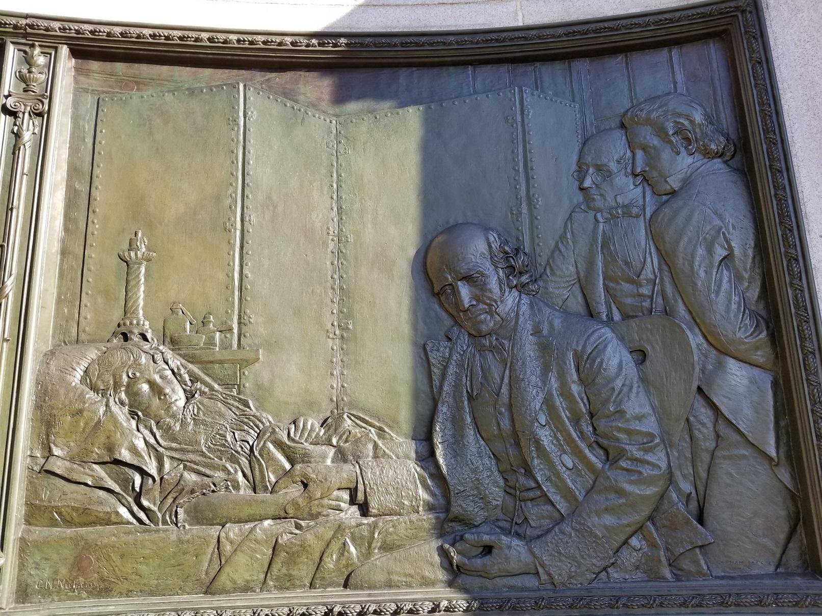 Hahnemann-relief-detail