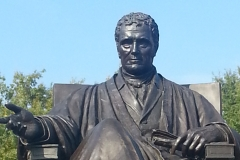 Marshall statue close-up