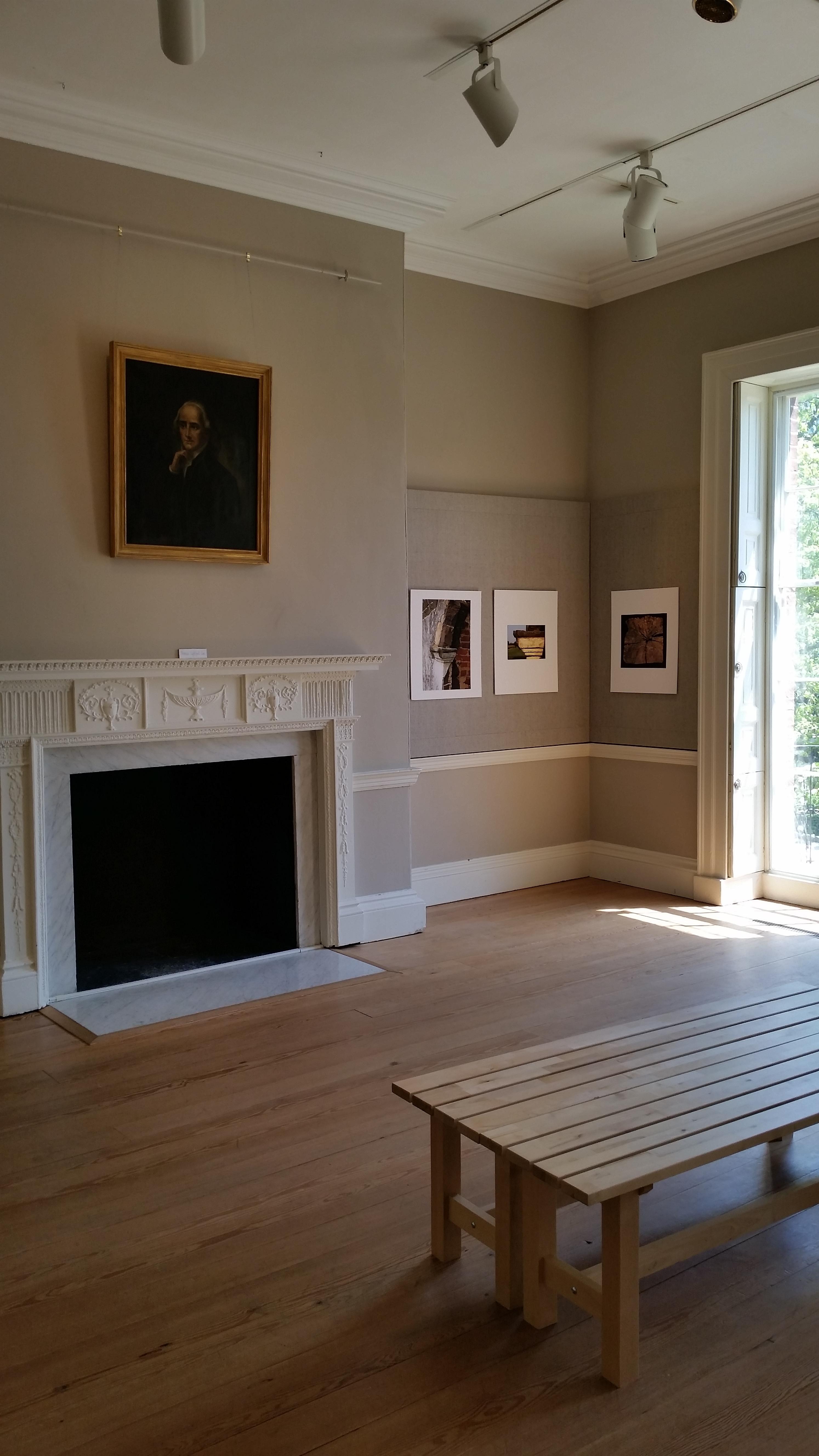upstairs gallery