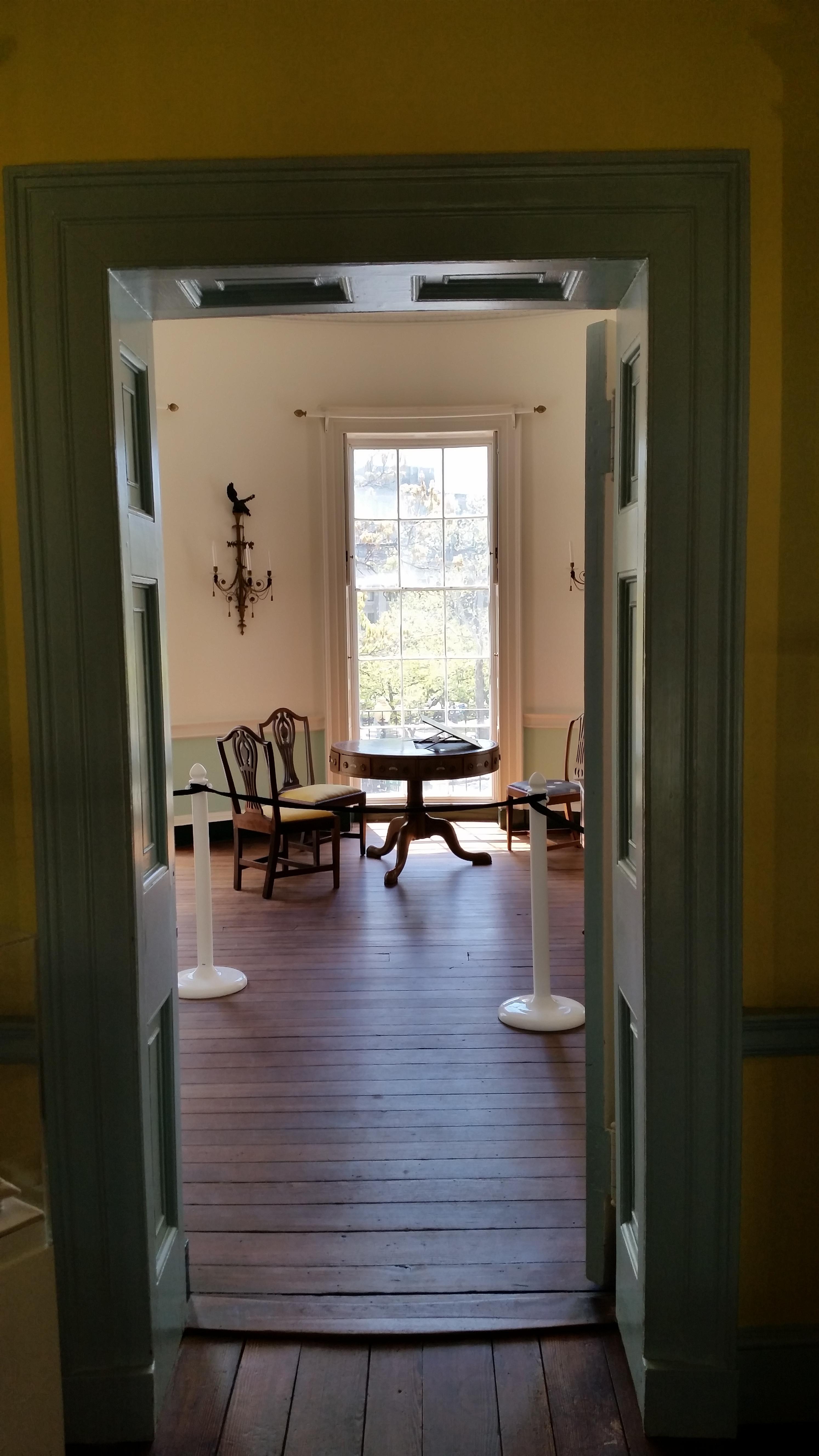 Treaty Room entrance