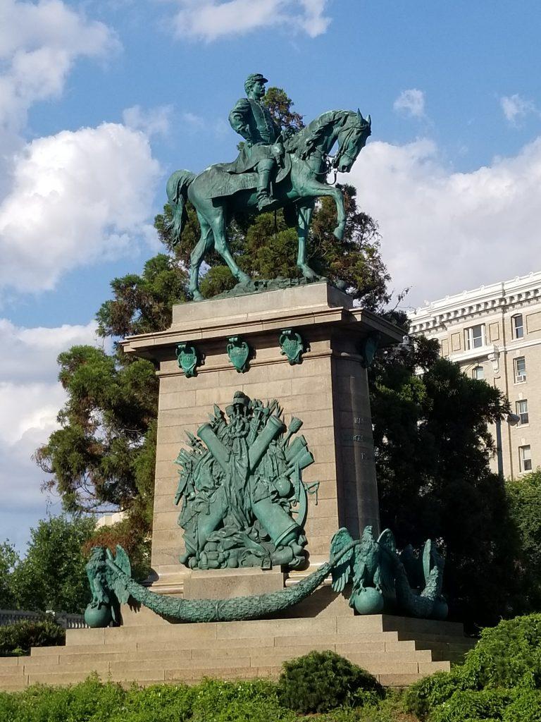 McClellan Memorial Statue