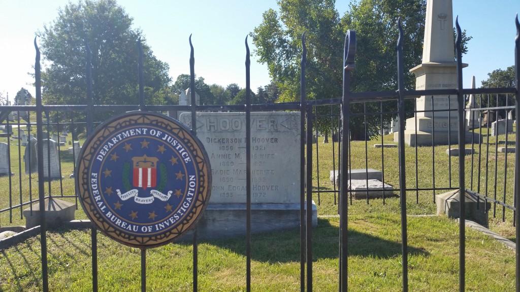 J Edgar Hoover grave site