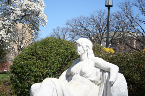 Serenity Statue, Meridian Hill Park