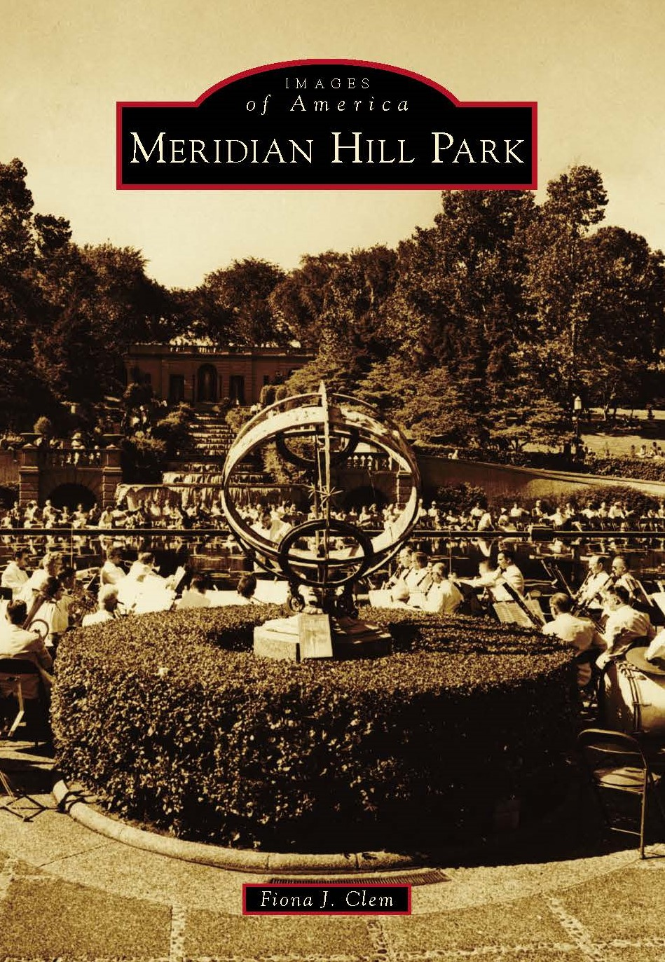 book cover Meridian Hill Park