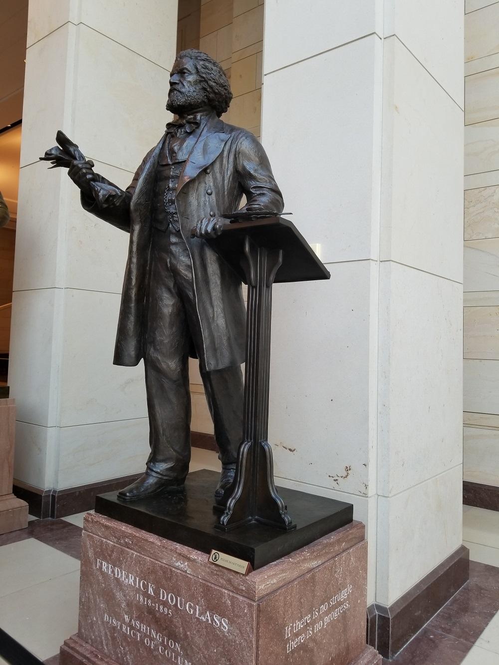 Frederick Douglass statue Capitol Building