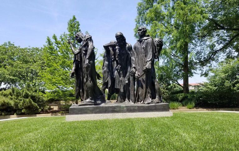 Burghers of Calais, Rodin